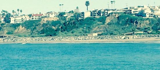 San Clemente Shoreline by SouthOCBeaches.com