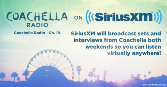 Coachella 2017 Live on Sirius XM