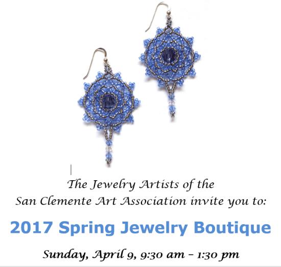 San Clemente Jewelry Art Show April 9 2017