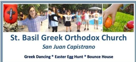 St. Basil Greek Orthodox Church San Juan Capistrano Easter Picinic April 16 2017