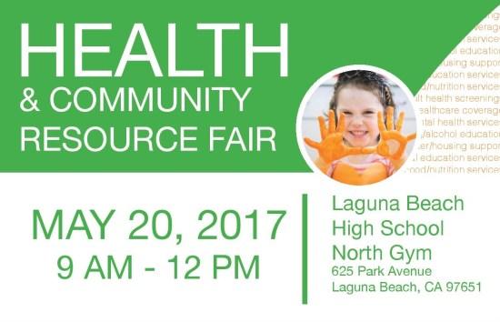 Laguna Beach Unified School District Health Fair May 20 2017