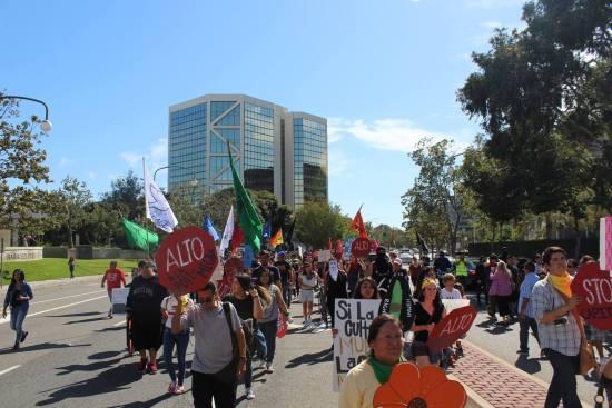 Santa Ana May Day March May 1 2017 Courtesy of facebook.com:OCMayDayCoalition