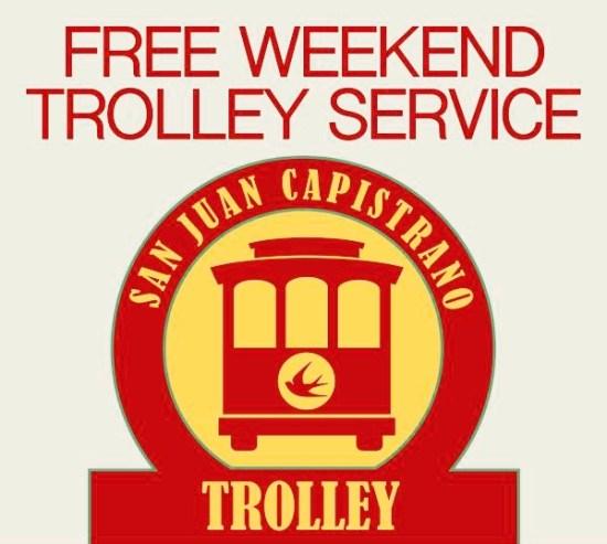 San Juan Capistrano Free Trolley Summer 2017