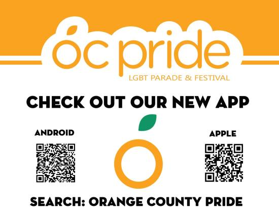 OC Pride 2017 New Apps