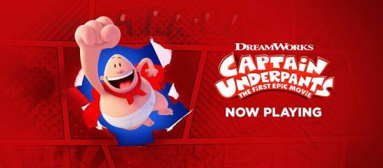 Captain Underpants Courtesy of DreamWorks.com