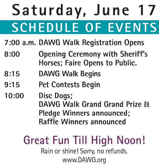 Mission Viejo Pet Fair June 17 2017 Schedule