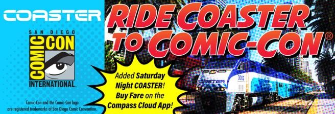 Coaster Comic Con 2017