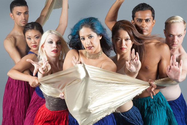 Laguna Beach Festival of the Arts Presents Blue13 Dance Company Courtesy of foapom.com