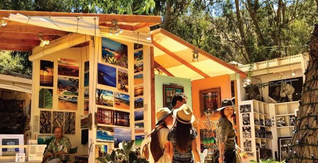 Laguna Beach Sawdust Festival Courtesy of SawdustArtFestival.org