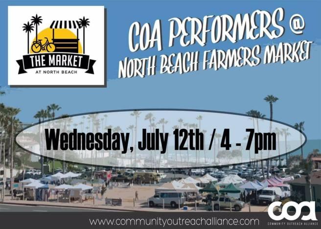 North Beach Farmers Market July 12 2017