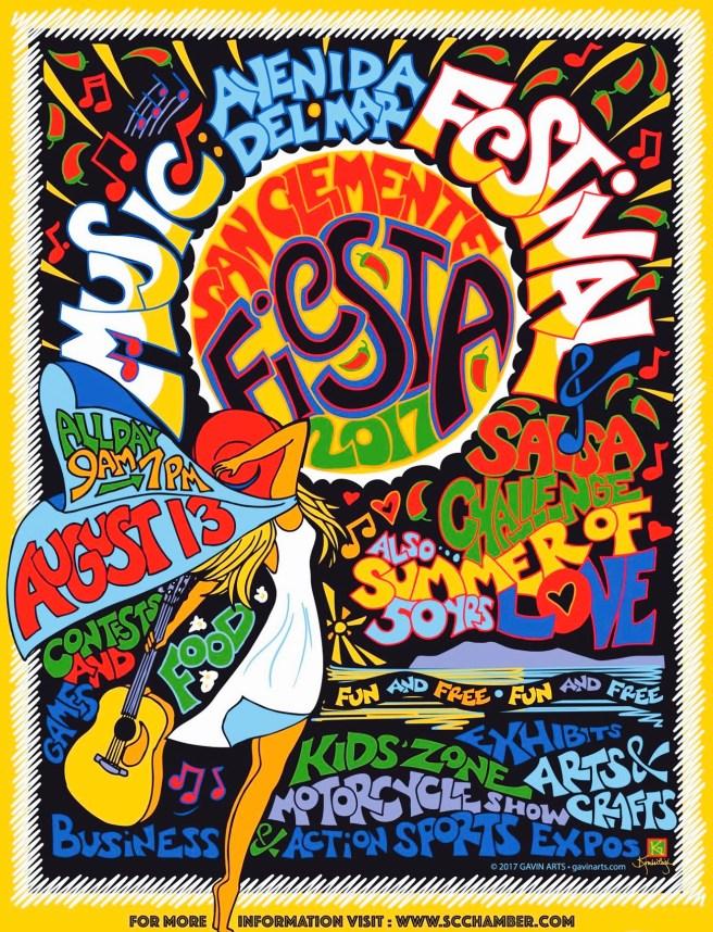 San Clemente Fiesta Music Festival August 13 2017
