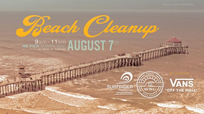 Surfrider Huntington Beach Clean Up August 7 2017