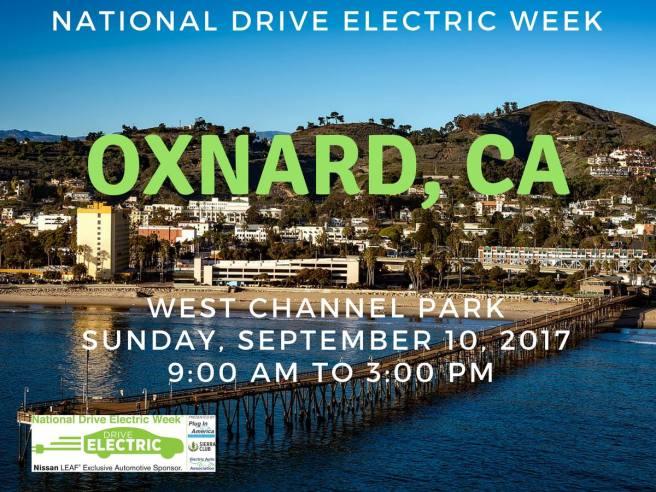 National Drive Electric Week Oxnard CA September 10 2017