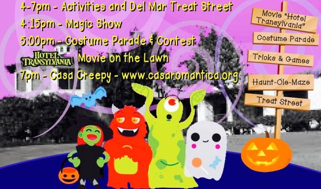 Spooky San Clemente Schedule October 28 2017