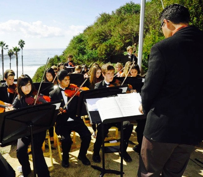 San Clemente High School Orchestra Courtesy of CasaRomantica.org