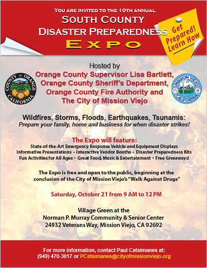 South OC Disaster Preparedness Expo Oct 21 2017