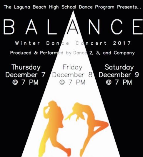 Laguna Beach High School Winter Dance Concert December 2017