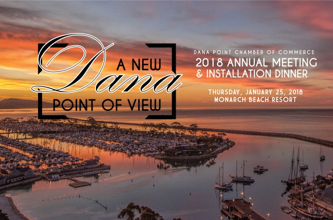 Dana Point Chamber of Commerce 2018 Annual Meeting & Installation Dinner