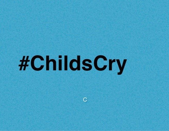 #ChildsCry Logo