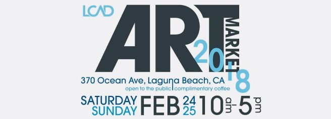 Laguna Beach LCAD Pop Up Art Market Feb 24 & Feb 25 2018 (1)