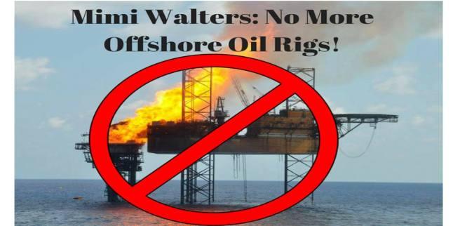 Laguna Beach OffShore Oil Rigs Rally Feb 22 2018