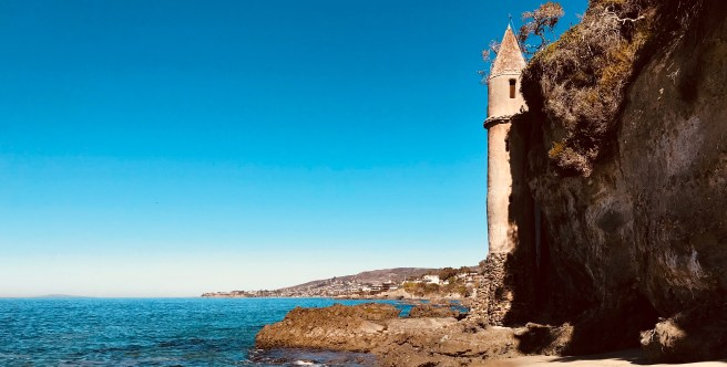 Laguna Beach Pirate Tower Courtesy of SouthOCBeaches.com