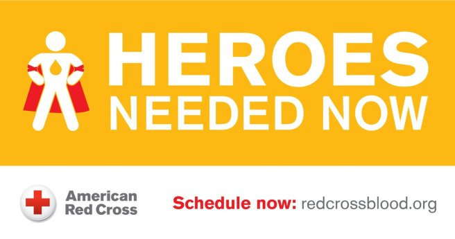 American Red Cross Heroes Needed Banner