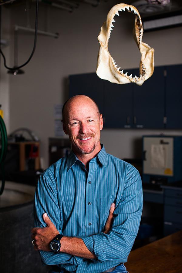 Dr. Chris Lowe Courtesy of Ocean-Institute.org