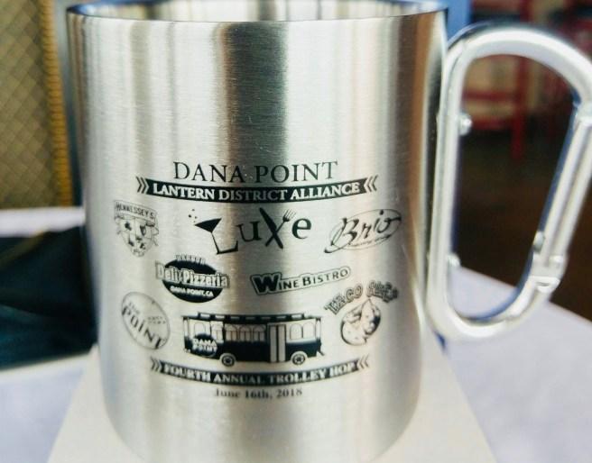 Dana Point Trolley Hop Mug 2018 Courtesy of Luxe Dana Point
