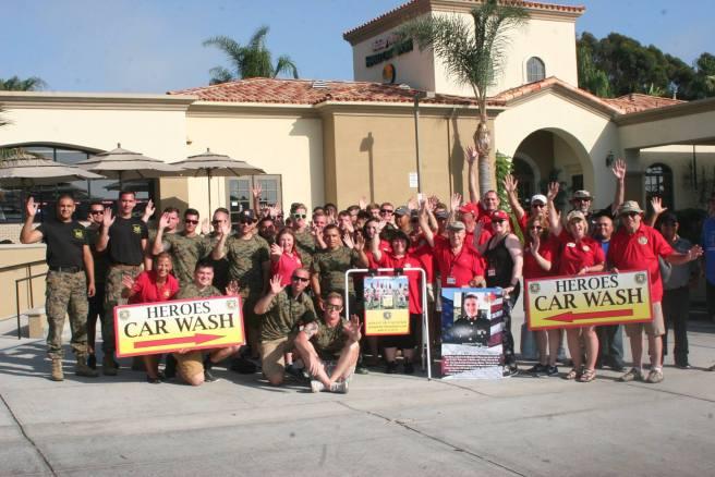 Dana Point American Heroes Car Wash June 30 2018