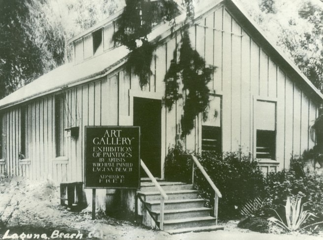 Laguna Beach Art Gallery 1918 Courtesy of LagunaArtMuseum.org