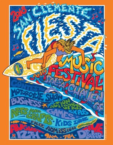 San Clemente Fiesta Music Festival 2018