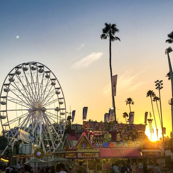 LA County Fair Sunset Courtesy of Facebook.com:LACountyFair