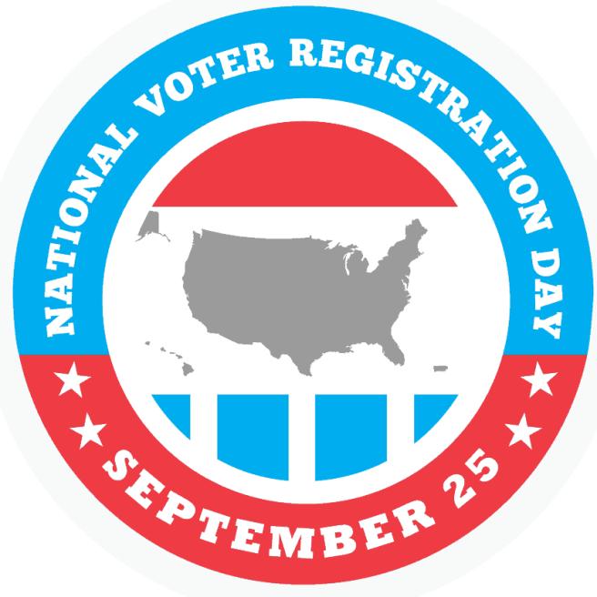 National Voter Registration Day 09-25-18