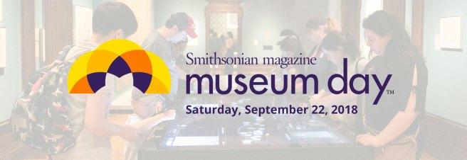 Smithsonian Magazine Museum Day September 22 2018