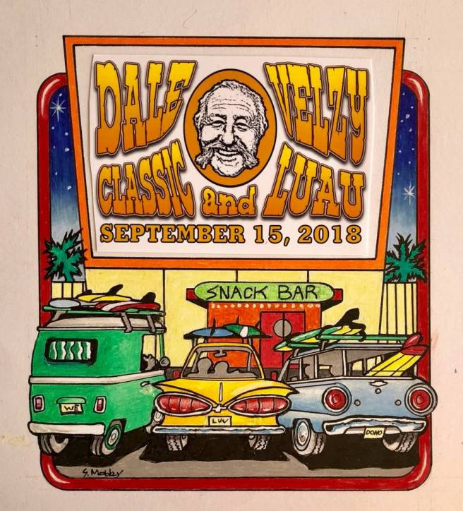 Velzy Surfing Classic and Luau September 15 2018