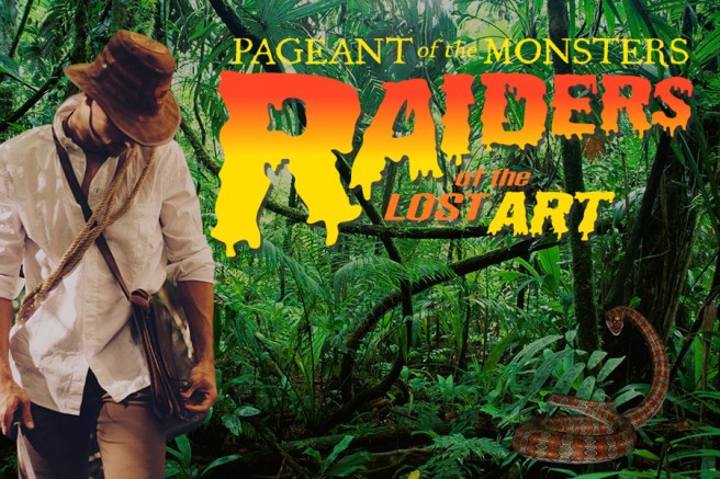 Laguna Beach Festival of the Arts Pageant of the Monsters October 2018