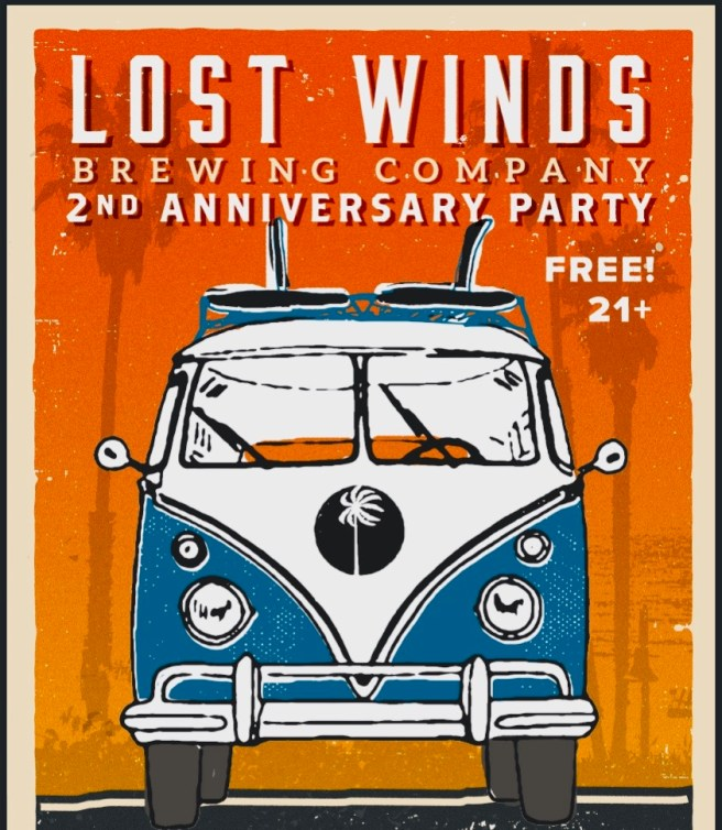 Lost Winds Brewing Company Anniversary Party November 3 2018
