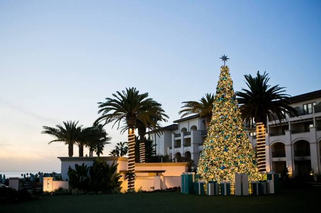 Monarch Beach Resort Tree Lighting Courtesy of Monarch Beach Resort