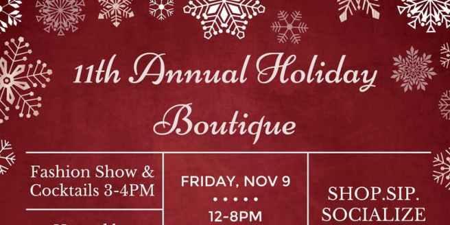 San Clemente Holiday Boutique Novemer 9 2018
