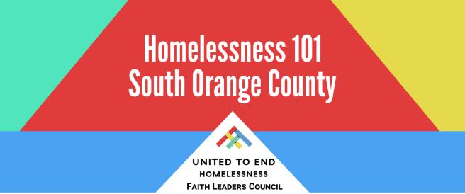 Homelessness 101 South Orange County November 13 2018