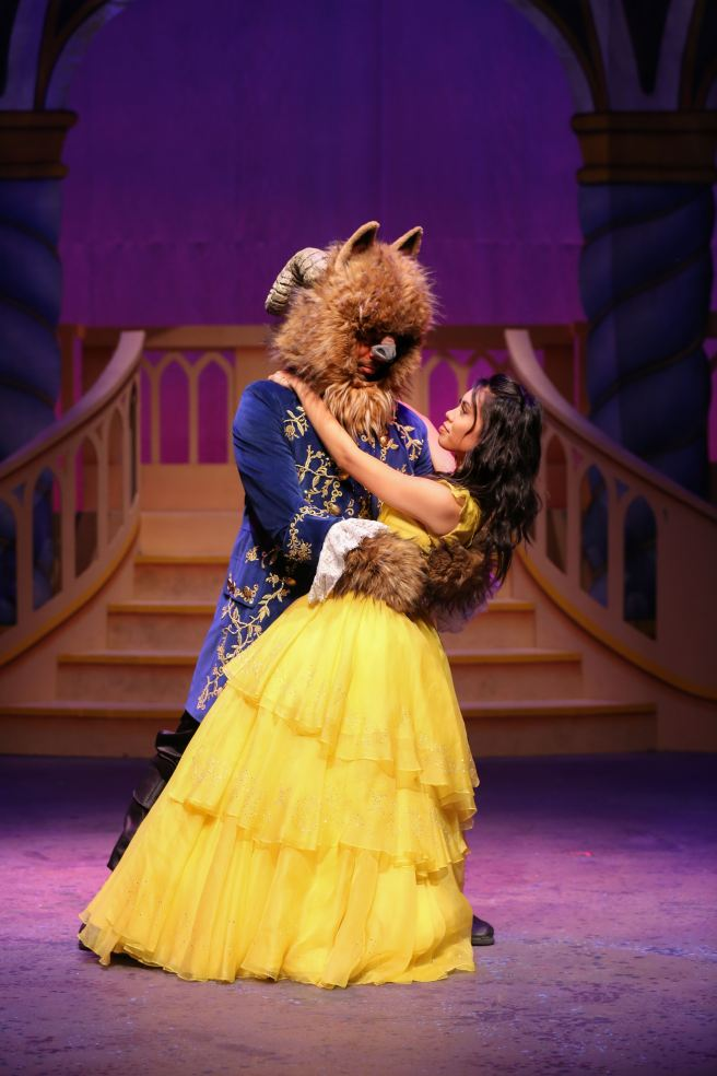 Beauty and The Beast A Christmas Rose by Cathy Cunningham Photography Courtesy of LagunaPlayhouse.com