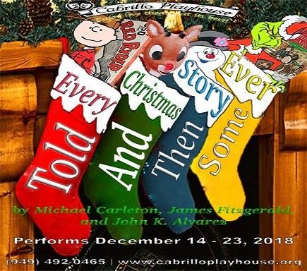 Cabrillo Playhouse Deceber 14-23 2018