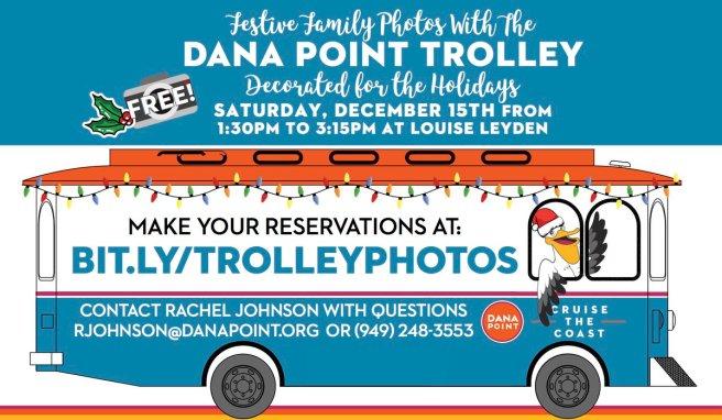 Dana Point Trolley December 15 2018