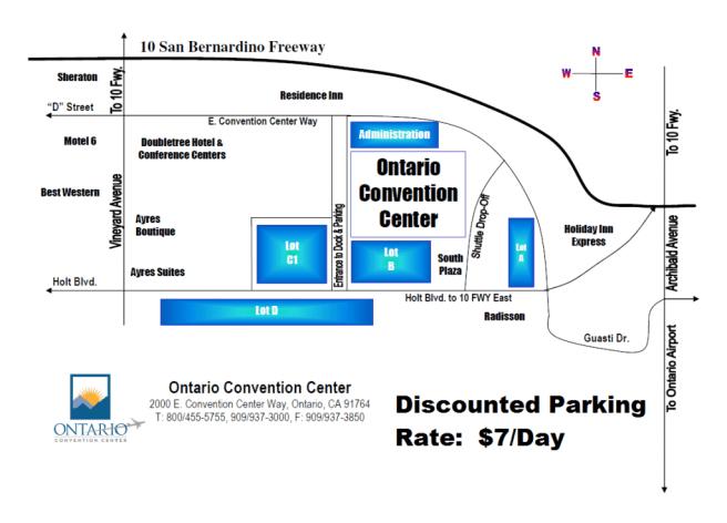 Ontario Convention Center Parking