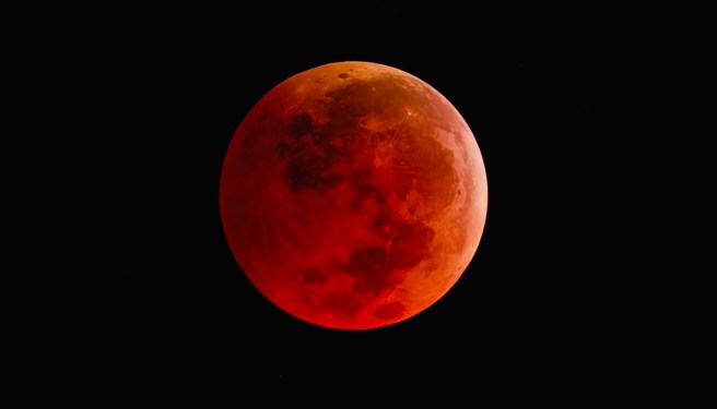 Red Blood Moon Courtesy of NASA.gov