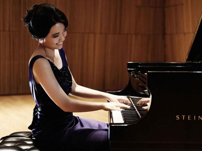 Pianist Joyce Yang Courtesy of Laguna Beach Music Festival