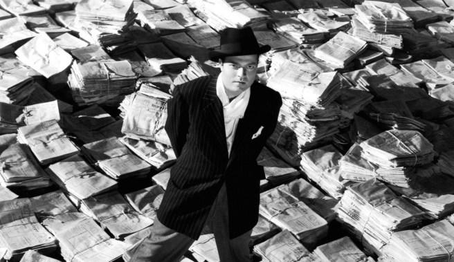 Orson Wells in Citizen Kane Courtesy of RKO.com