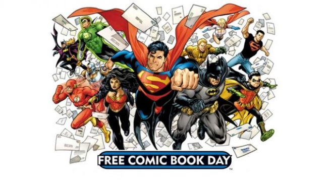 Comic Book Day May 4 2019