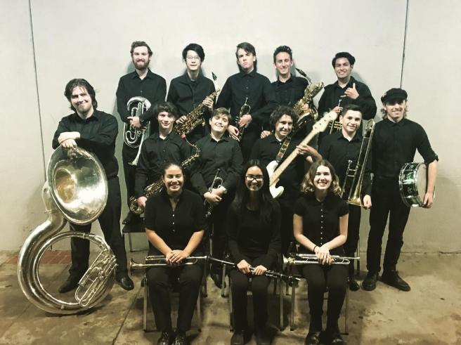 San Clemente High School Jazz Band Courtesy of San Clemente Instrumental Music Facebook Page